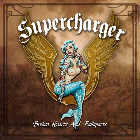 Supercharger-BrokenHeartsAndFallaparts-cover