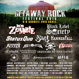 Takida klara for getaway rock