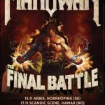 Manowar kommer till Sverige och Norge på sin The Final Battle World Tour
