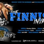 THE FINNISH INVASION – The very best of Santa Cruz, Sister, Shiraz Lane och Strÿkenine